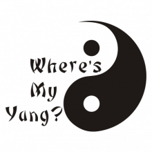 T-shirt Where's my Yang-S12