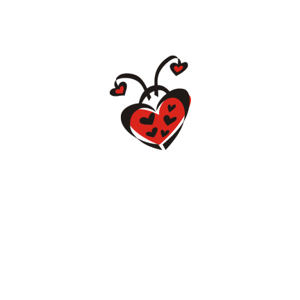 T-shirt Ladybug heart-S19