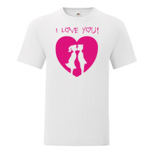 T-shirt I love you-S20