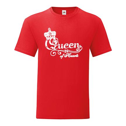 T-shirt Queen of hearts-S27