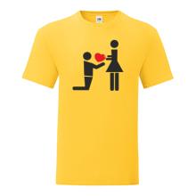 T-shirt Proposal heart-S32