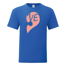 T-shirt Half heart-VE-S52