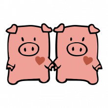 T-shirt Pigs-S60