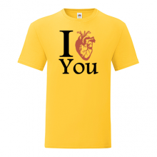 T-shirt I heart you-S65
