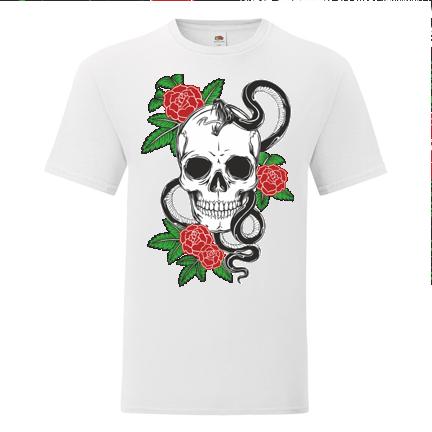 T-shirt Skull-01